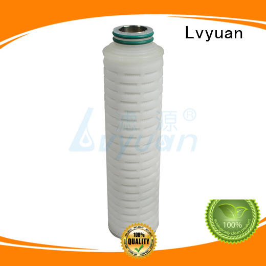 steel pleated micron stainless  Lvyuan