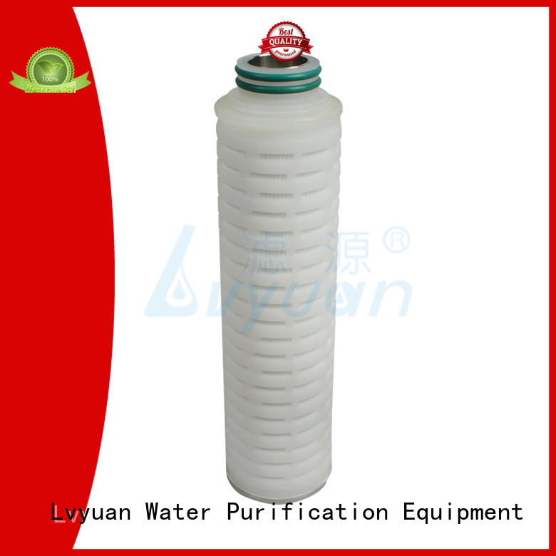 Lvyuan stainless steel water filter cartridge manufacturer for sea water desalination