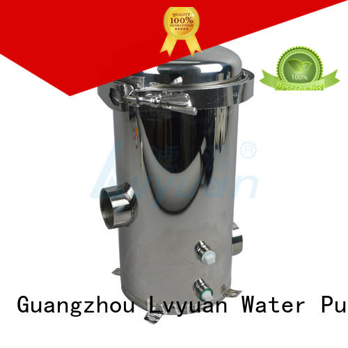 Lvyuan stainless filter housing rod for food and beverage