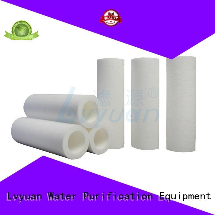 Lvyuan safe melt blown filter cartridge manufacturer for industry