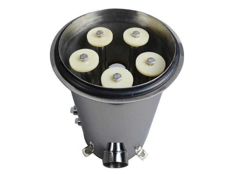 Lvyuan high end stainless steel filter housing with fin end cap for sea water desalination-2