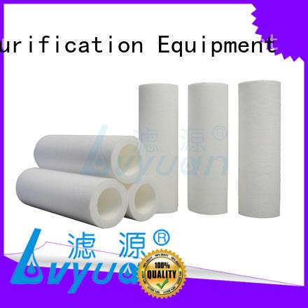 Lvyuan customized melt blown filter cartridge blown for
