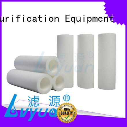 Lvyuan customized melt blown filter cartridge blown for