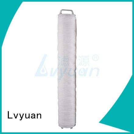 best high flow inline water filter supplier for sea water desalination Lvyuan