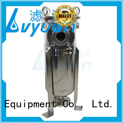 Lvyuan porous ss cartridge filter housing housing for industry