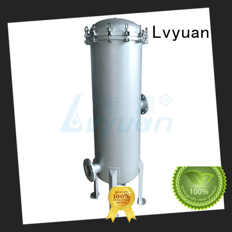 ss bag filter housing stainless for Lvyuan