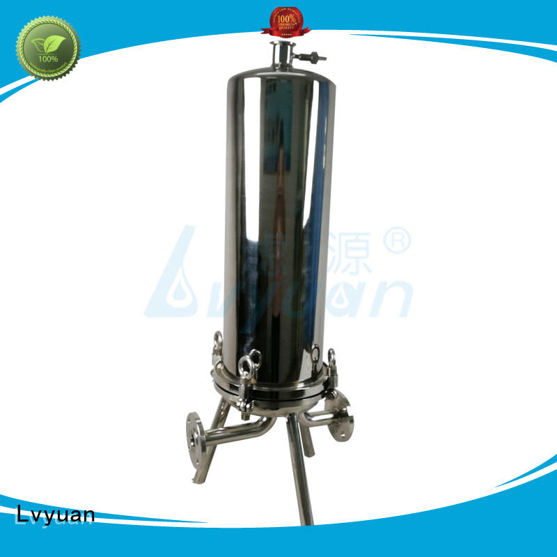 Lvyuan high quality stainless steel filter housing rod for industry