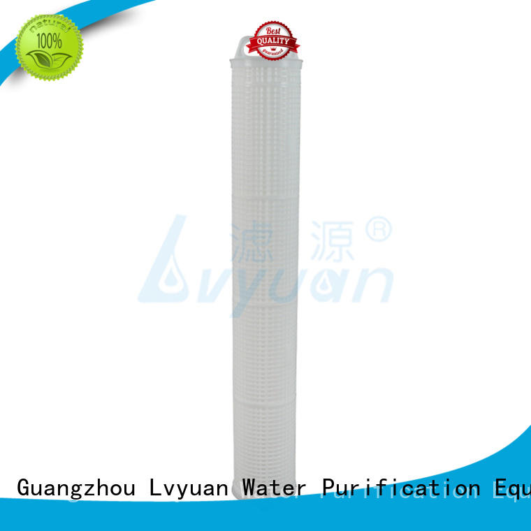 high flow inline water filter hot sale for industry Lvyuan