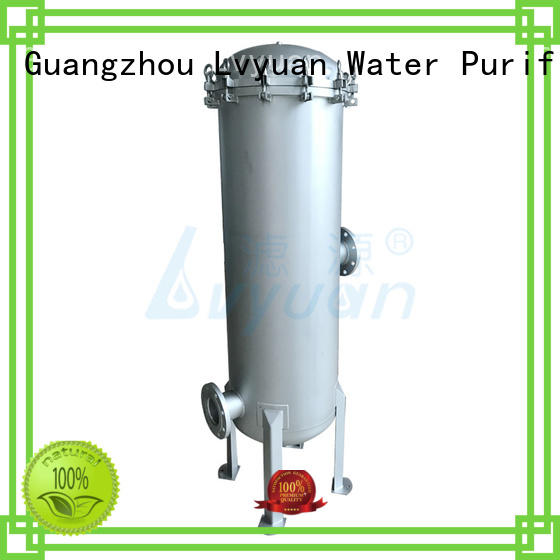 high end stainless filter housing high quality for sea water desalination Lvyuan