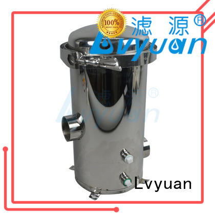 Lvyuan porous stainless steel filter housing high quality for sea water treatment