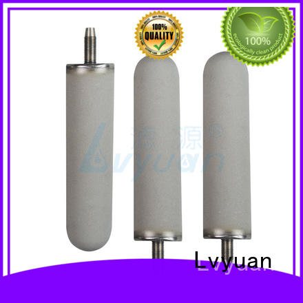Sintered metal filters suppliers porous titanium rod filter cartridge