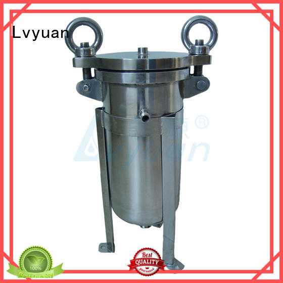 porous stainless steel cartridge filter housing manufacturer for industry