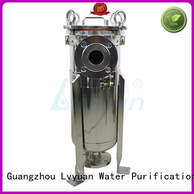 Lvyuan stainless steel water filter housing manufacturer for food and beverage