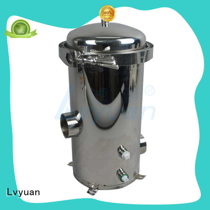 Lvyuan ss filter housing housing for sea water treatment