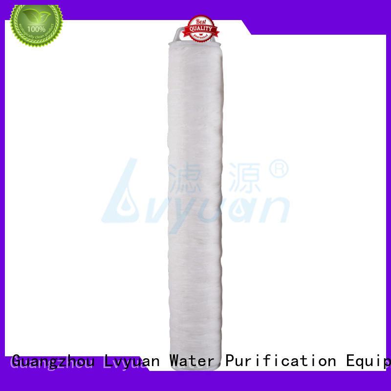 hi flow inline water filter efficient for industry Lvyuan