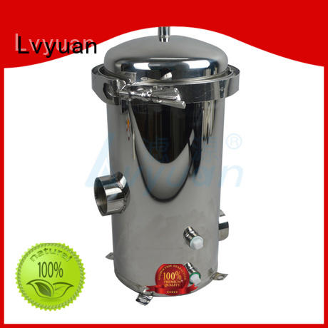 stainless water filter housing for food and beverage Lvyuan