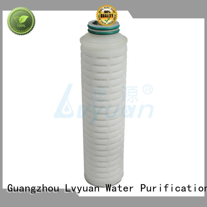 stainless steel filter cartridge manufacturer for sea water desalination
