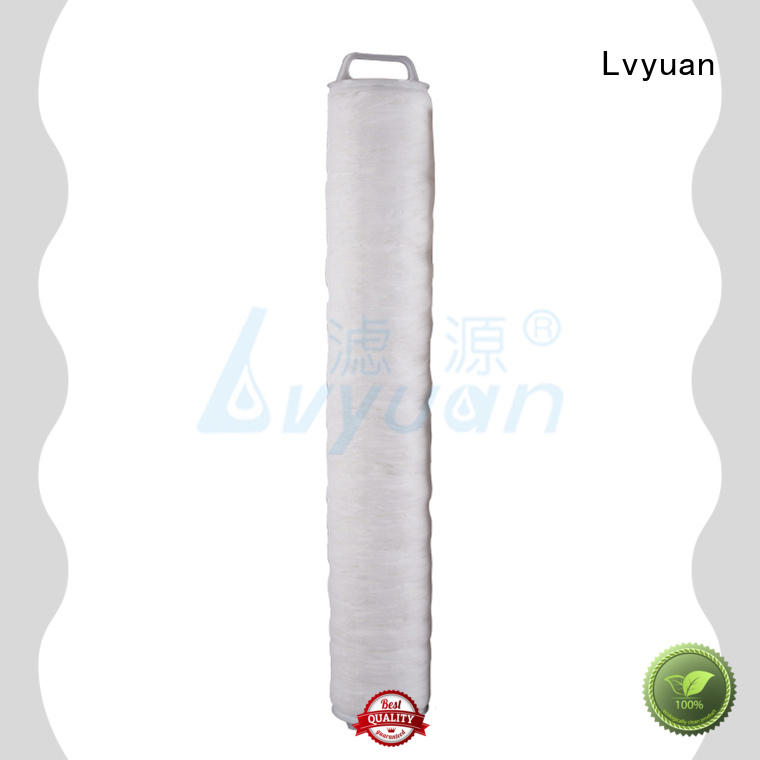 Lvyuan pall hi flow water filter replacement cartridge manufacturer for industry