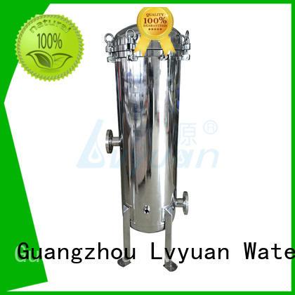Lvyuan stell 10 water filter housing fin sea
