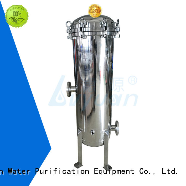 Lvyuan efficient filter housing with fin end cap for industry