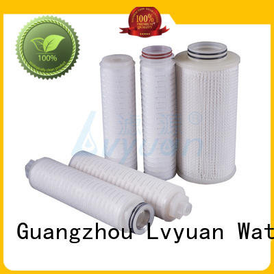 Lvyuan nylon pleated type filter for organic solvents