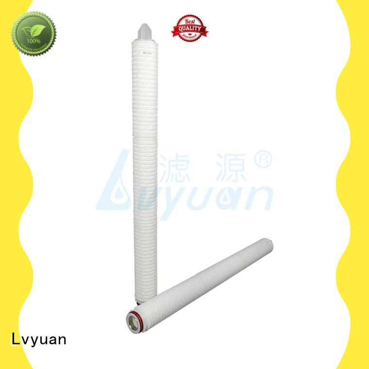 hot sale pleated polypropylene filter cartridge latest for liquids sterile filtration Lvyuan