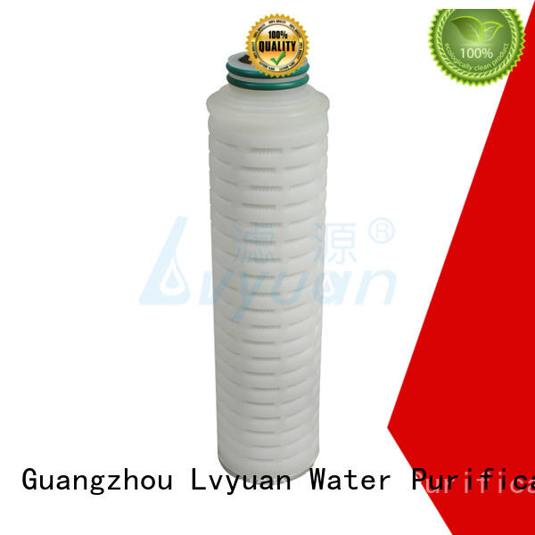 Lvyuan water filter cartridge supplier for sale