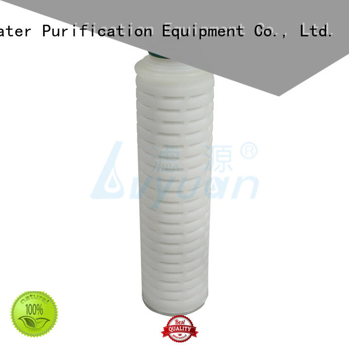 ptfe pleated water filter cartridge supplier for sea water desalination