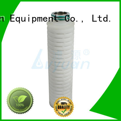 pes pleated filter cartridge replacement for food and beverage