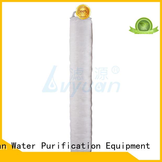 Lvyuan professional high flow under sink water filter park for sea water desalination