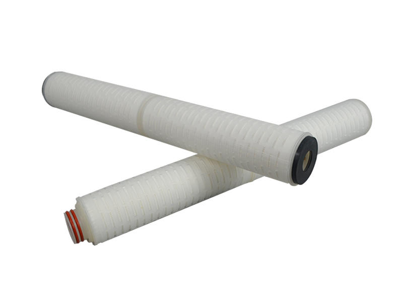pvdf pleated filter manufacturers with stainless steel for food and beverage-3
