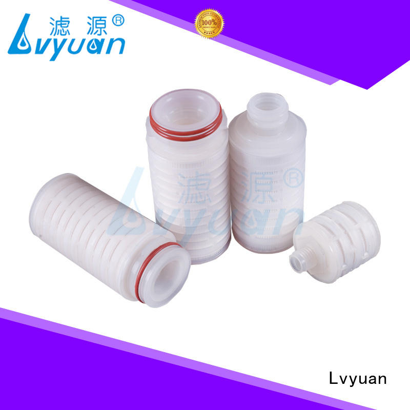 pes pleated filter cartridge supplier for sea water desalination