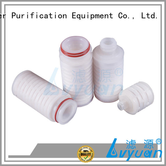 pes pleated filter cartridge suppliers manufacturer for industry