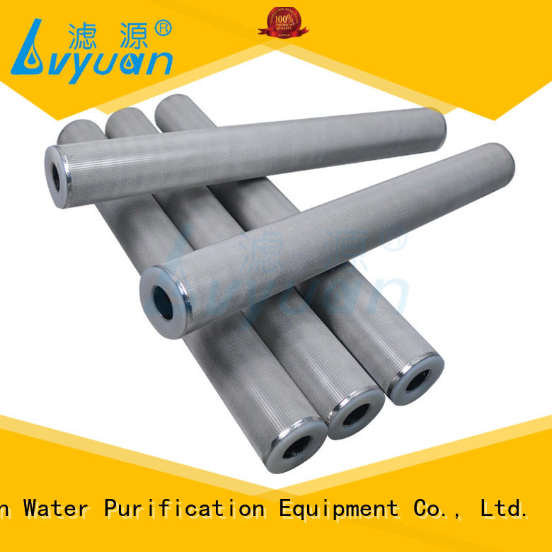 metal sintered plastic filter filter filtration Lvyuan