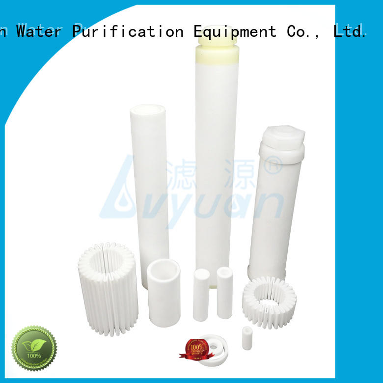 Lvyuan titanium sintered filter cartridge rod for industry
