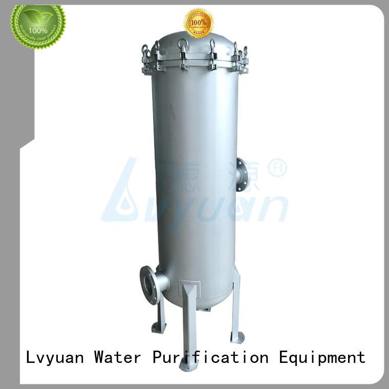 Lvyuan efficient stainless filter housing housing for oil fuel