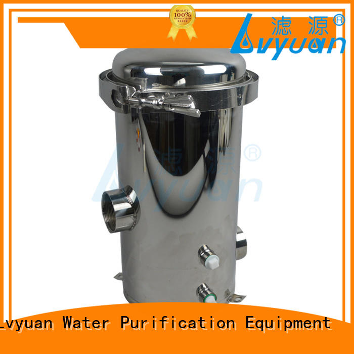 Lvyuan best ss filter housing with core for sea water treatment