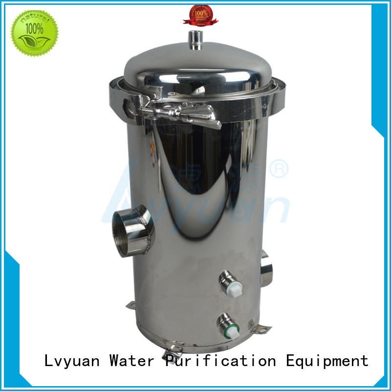 best stainless steel water filter housing rod for food and beverage Lvyuan