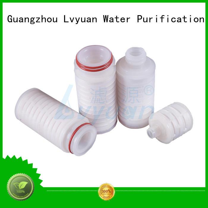 pleated water filters cartridge sale Lvyuan