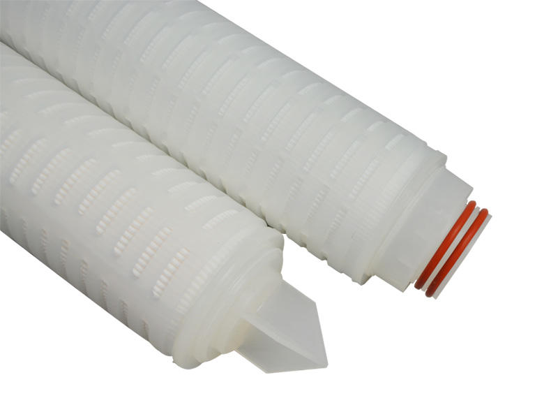 water pleated filter element supplier for liquids sterile filtration-1