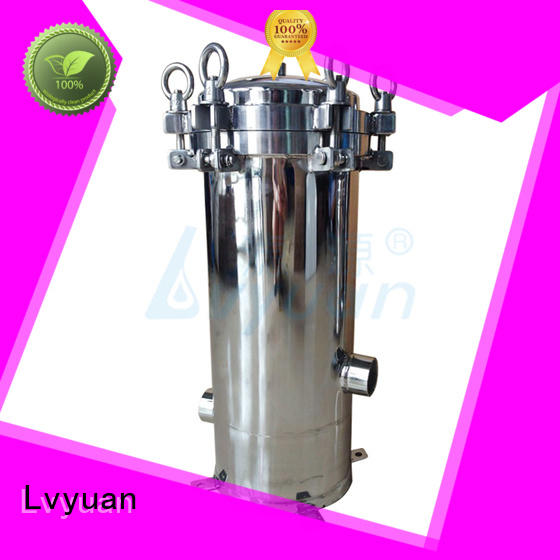 Lvyuan hot sale stainless filter housing housing for industry