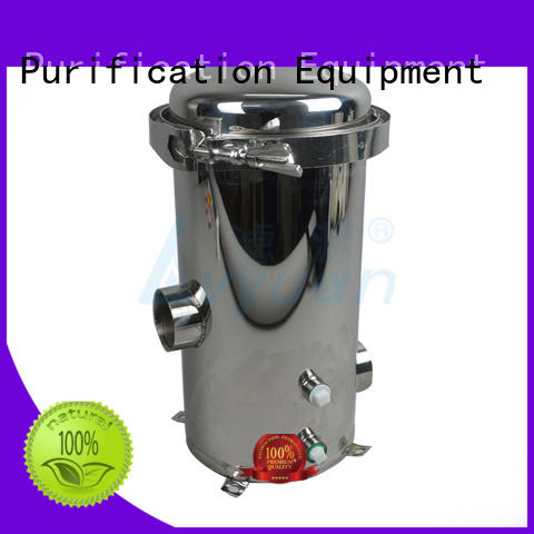 Lvyuan best ss bag filter housing with fin end cap for industry