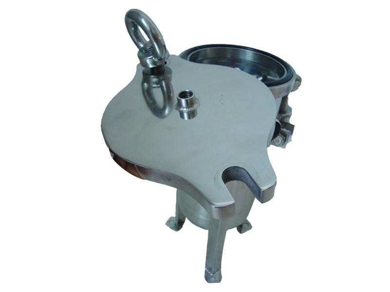 efficient stainless steel bag filter housing with fin end cap for sea water treatment-2