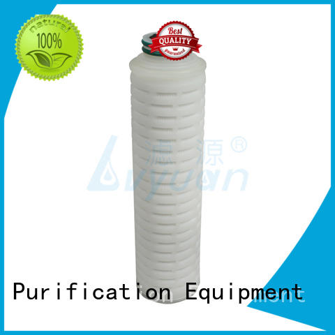 best pleated type filter latest for liquids sterile filtration Lvyuan