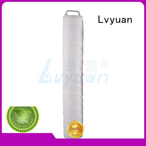 Lvyuan high flow filter cartridge manufacturer for sale