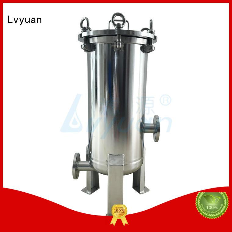 Lvyuan porous 10 filter housing for sea water desalination