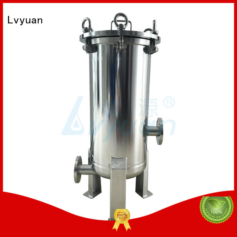 Lvyuan porous 10 filter housing for sea water desalination