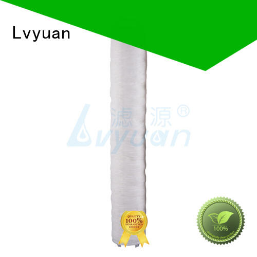 Lvyuan high flow filter supplier for industry