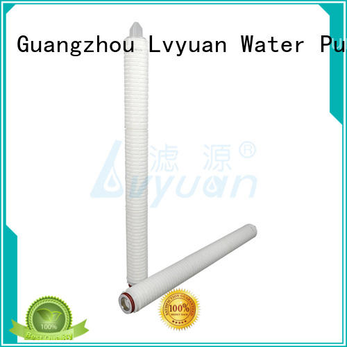 pleated pleated type filter cartridge for Lvyuan