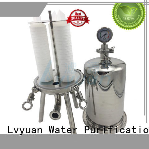 Lvyuan professional 10 inch filter housing best for sea water desalination